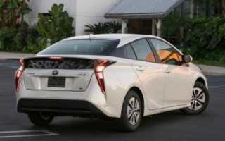 Тойота приус расход топлива