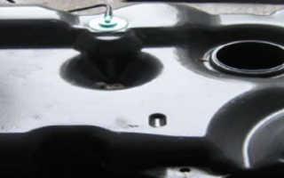 Рено логан объем топливного бака