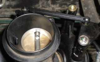 Рено логан чистка дроссельной заслонки