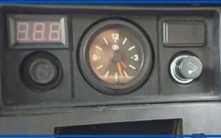 Подключение часов ваз 2107