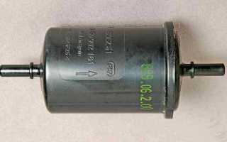 Рено сандеро замена топливного фильтра