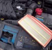 Замена воздушного фильтра рено