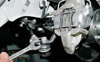 Ваз 2106 замена рулевых тяг