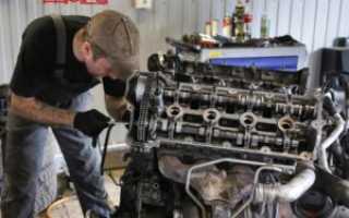 Ремонт двигателя порше кайен