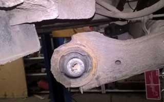 Замена сайлентблоков задней балки киа рио