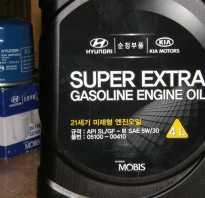 Замена масла в двигателе хендай солярис
