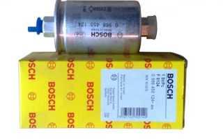 Ваз 2110 замена топливного фильтра
