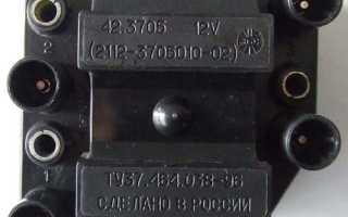 Подключение высоковольтных проводов ваз 2109