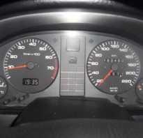 Ауди 80 датчик скорости