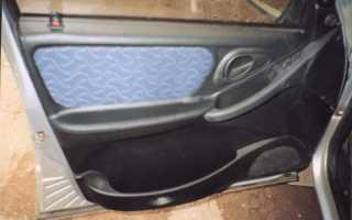 Как снять обшивку задней двери нива шевроле