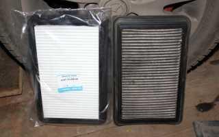 Замена воздушного фильтра мазда 3