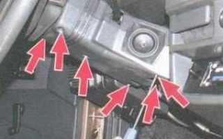 Ваз 2109 замена замка зажигания