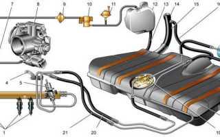 Топливная система ваз 2112