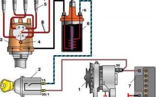 Как выставить зажигание ваз 2105