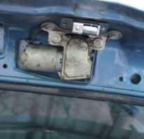 Замена замка багажника ваз 2114