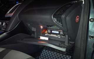 Снять бардачок форд фокус 3